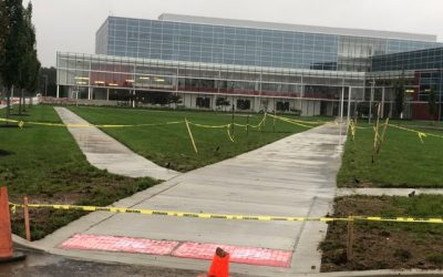 New Concrete at Burlington Coat Factory Corporate HQ