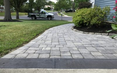 Paver Walkway Installation We Completed Recently Was a Huge Success!